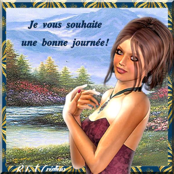 BONNE JOURNÉE À TOUS!