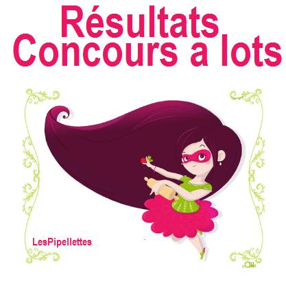 [Concours] Résultats du concours a lots ♥ :)