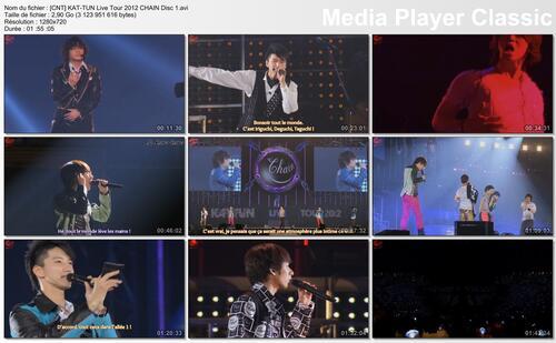 [Live] KAT-TUN Live CHAIN 2012