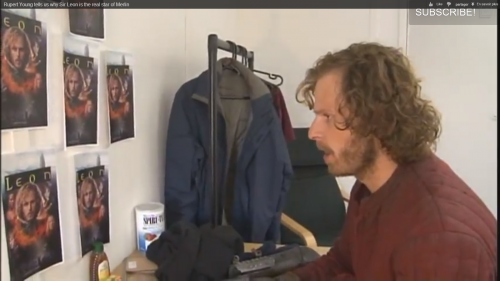 """Day 24 : Vidéo """"Rupert Young tells us why Sir Leon is the real star of Merlin"""""""