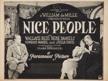 """Résultat de recherche d'images pour """"nice people 1922 poster"""""""