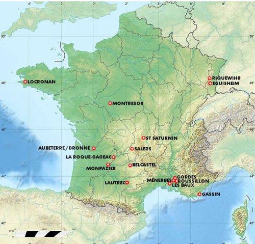 Salers dans le Cantal