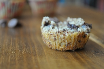 Mini-Cupcakes tout pépite de chocolat