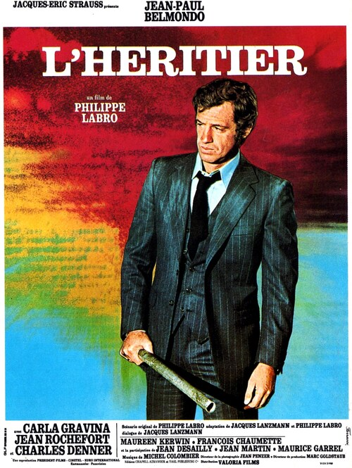 L'HERITIER - BOX OFFICE JEAN-PAUL BELMONDO 1973