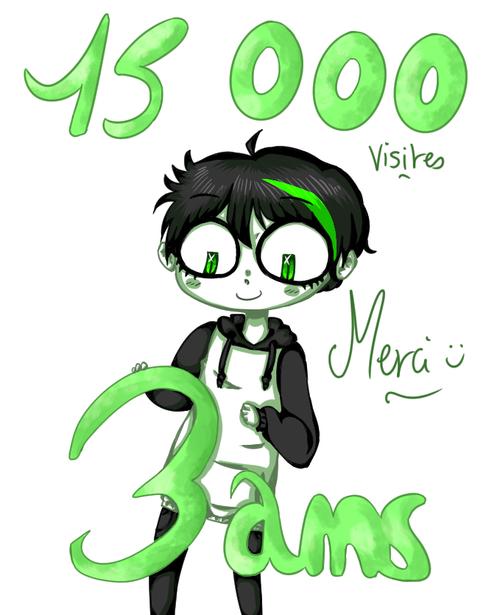3 ans + 15 000 visites
