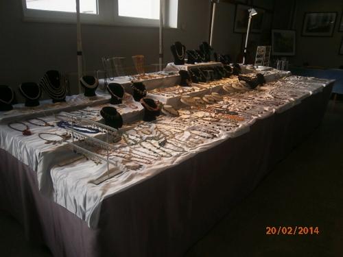 QUELQUES PHOTOS de l'EXPOSITION des ARTISANS de la VALLEE des LACS