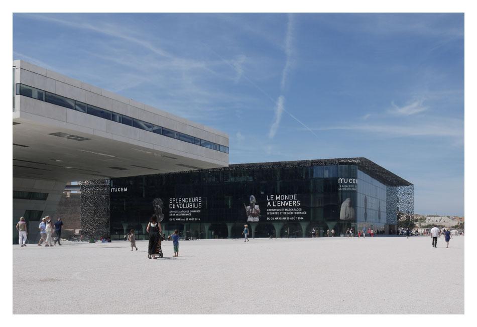 Le MuCEM : nouveau phare de Marseille