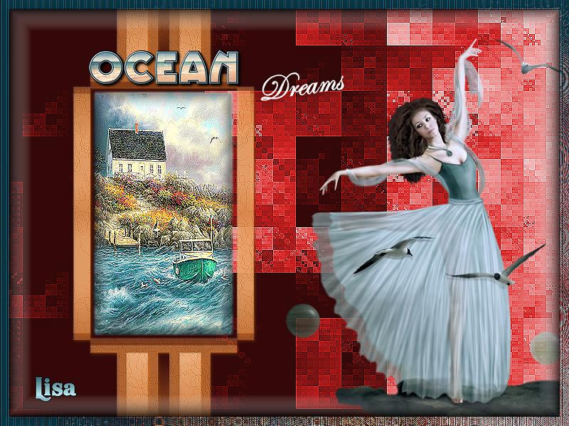 Mon défi thème océan du 01082019