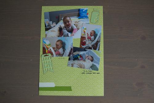 Mylène - Album Lucas : Quelques pages A4