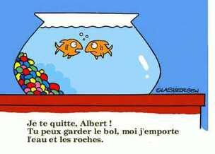 MARSEILLE - Mamiekéké et le poisson d' avril ...