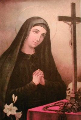 Sainte Marie-Anne de Paredes, tertiaire franciscaine en Equateur († 1645)