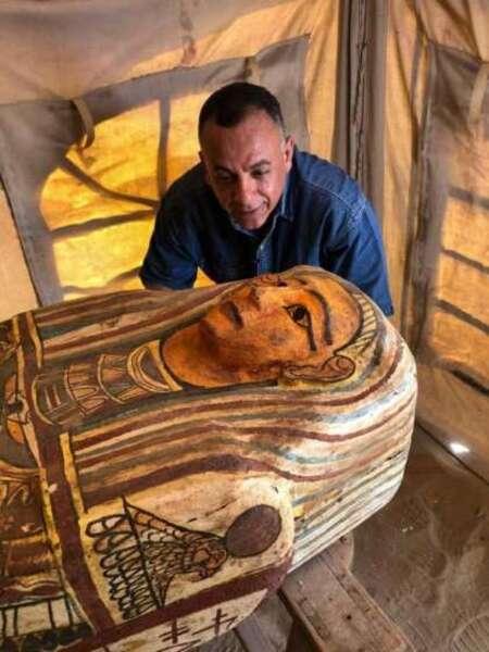 Égypte. Quatorze nouveaux sarcophages vieux de 2 500 ans découverts à Saqqara