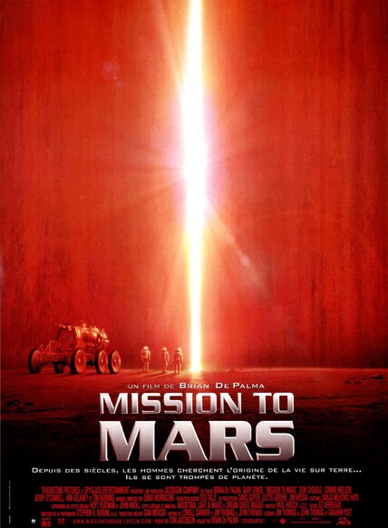 MISSION TO MARS AFFICHE