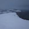 Du sommet du Plaa dou Soum, la crête de Lazerque