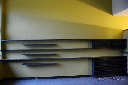 Intérieur de villa Art Déco