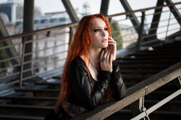 Elisa Lesage, modèle