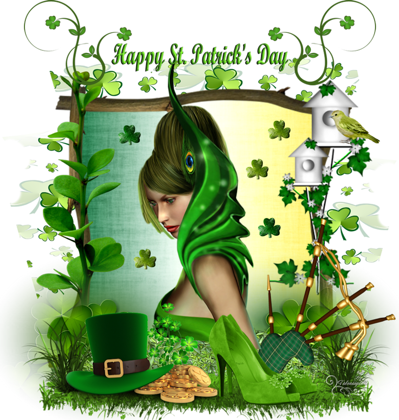*** Happy St-Patrick's Day ***