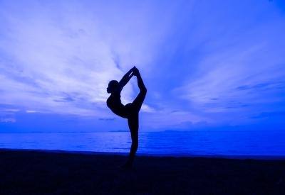 équilibre corps yoga