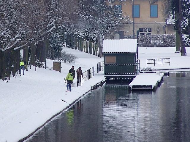 Metz sous la neige 12 Marc de Metz 06 02 2012