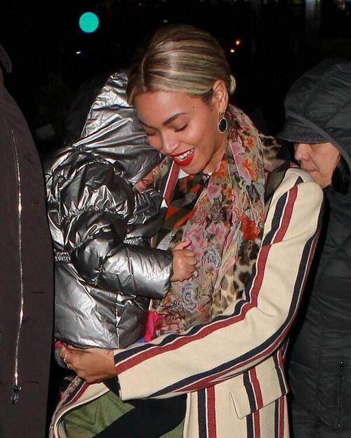 Beyoncé & Blue à New York