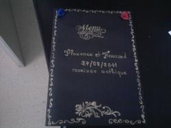 préparation mariage gothique