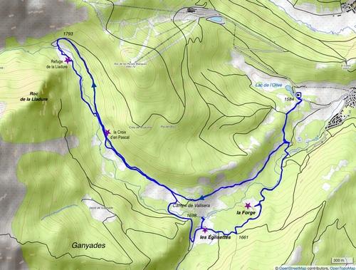 La vallée de la Lladure