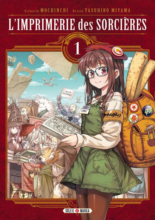 L'imprimerie des sorcières - Tome 01 - Mochinchi & Yasuhiro Miyama