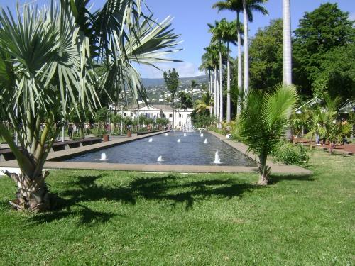 Saint-Denis : Le Jardin de l'Etat