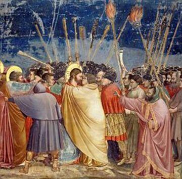 Le Baiser de Judas, de Giotto di Bondone.