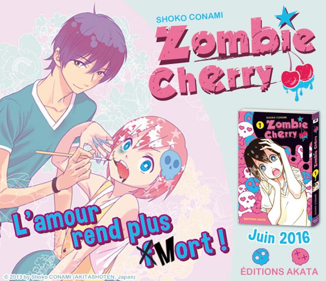 MANGA | Zombie cherry #1
