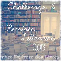 Rentrée littéraire et challenge