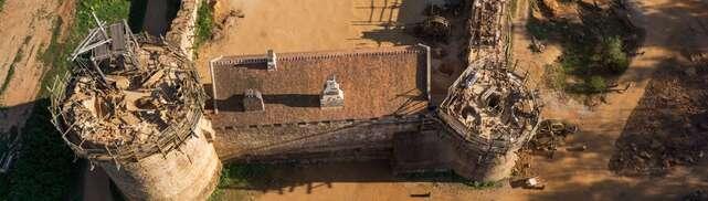 Guédelon la renaissance d'un château médiéval