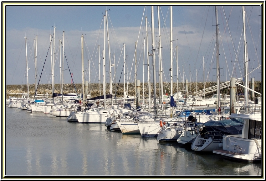 Port Douhet et la plage de Foulerot     île d'Oléron