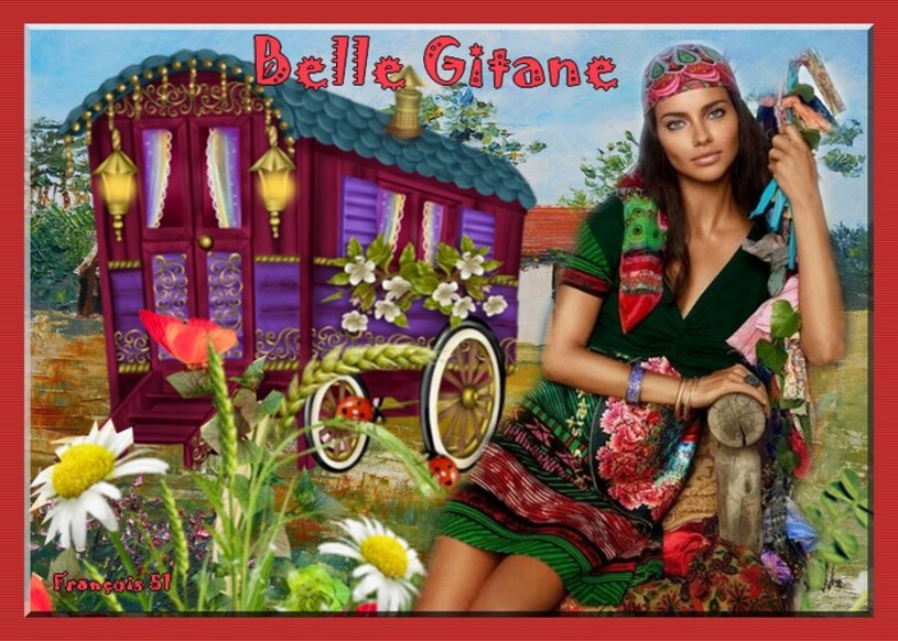 Défi pour Lara Belle Gitane ,