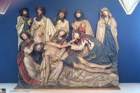 Unterlinden - Rhin supérieur - Colmar - Déploration du Christ - 1510-1520