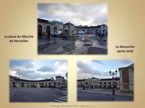 Versailles un dimanche après-midi
