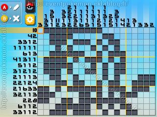 Meloetta Pokémon Picross