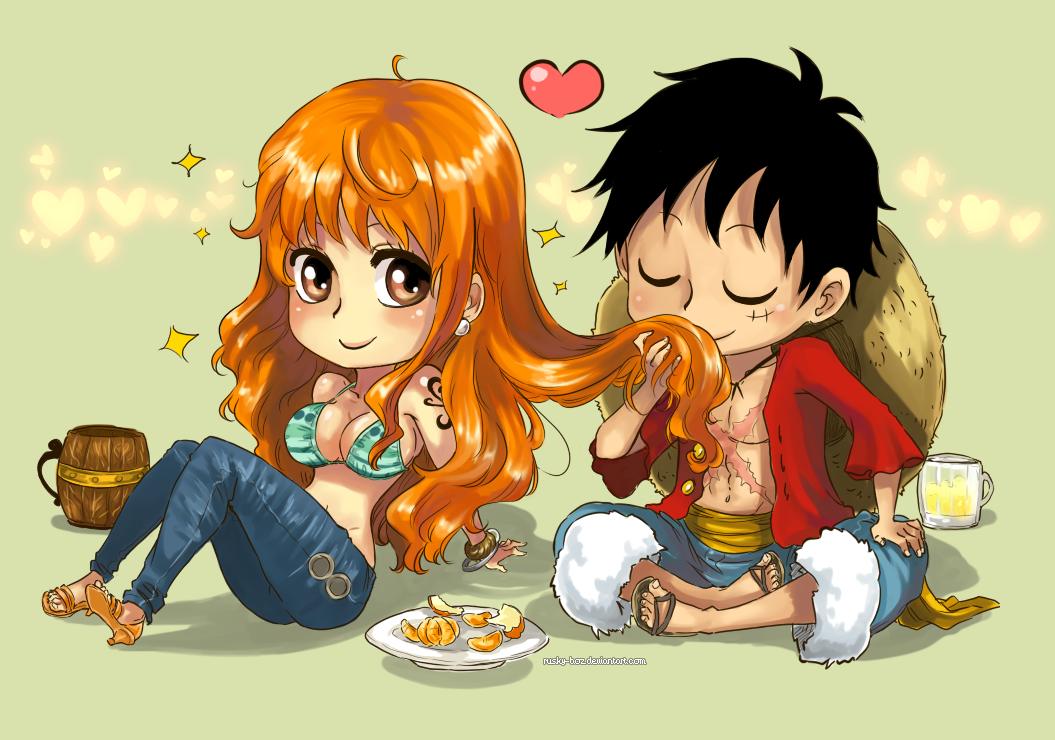 Couples dans one piece