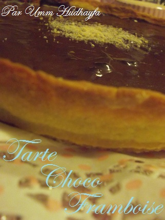 Tarte Choco Framboise