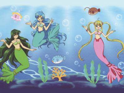 les mermaid melody