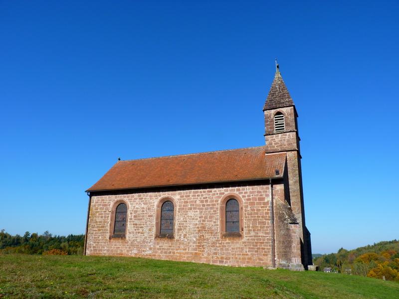 Saint-Quirin-L'Eglise Prieurale et La Haute-Chapelle