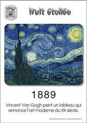 Nuit étoilée de Van Gogh