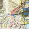 Carte IGN espagnol, Divisoria et écoulement des eaux du Puerto de Escalé