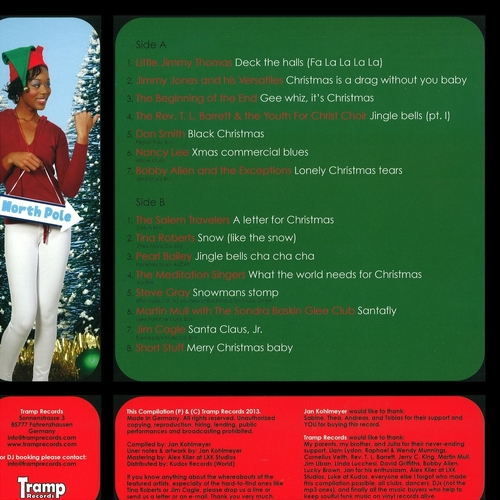 "Various Artists : "" Santa's Funk & Soul Christmas Party Vol. 2 "" Tramp Records TRLP-TRCD-9027 [ GE ]"