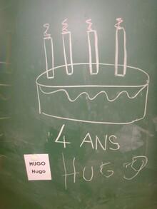 Anniversaire de Hugo