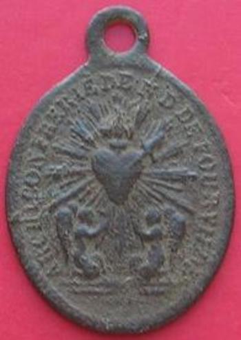 Médaille religieuse Confrérie Notre Dame de Fourvière  revers.jpg  b
