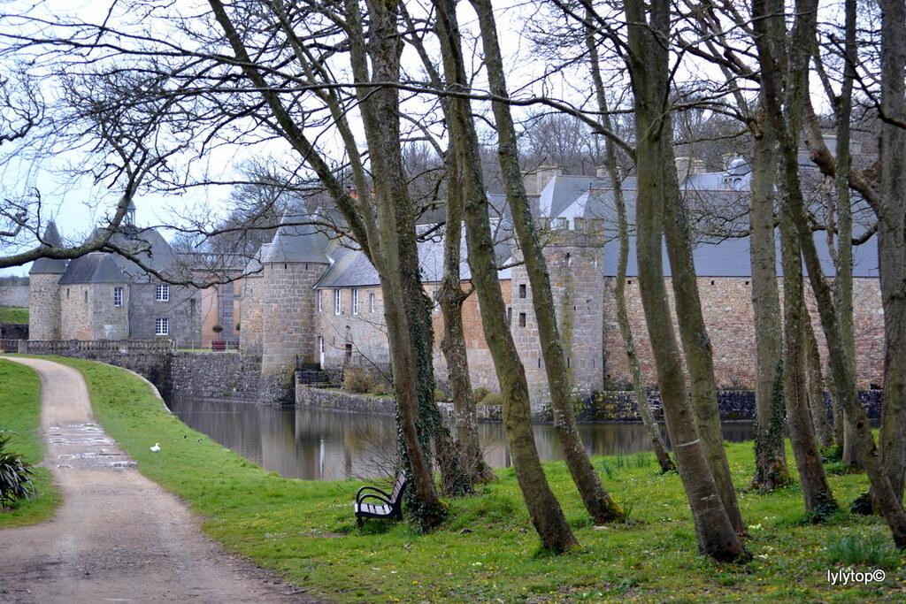 Le chateau de Flamanville
