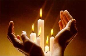 bougies de paix