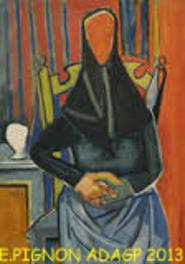 Edouard Pignon au Musée de Collioure.