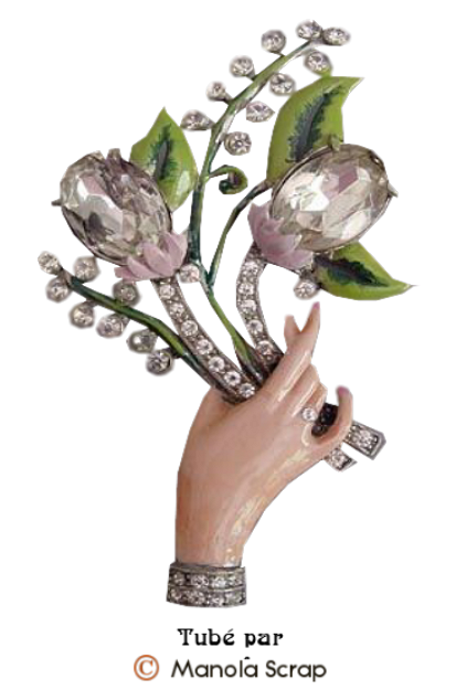 Tubes bijoux Muguets